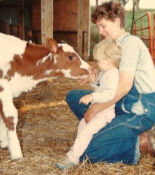 Growing Up with Ayrshires